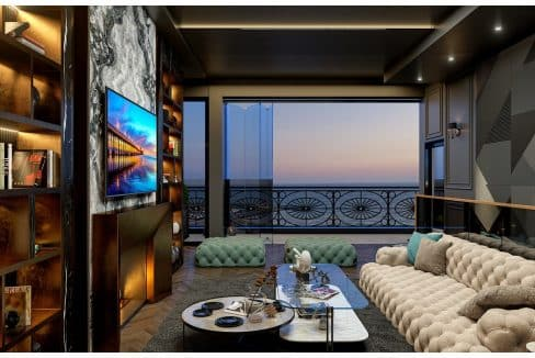 Beachfront luxury penthouse for sale Limassol First Line